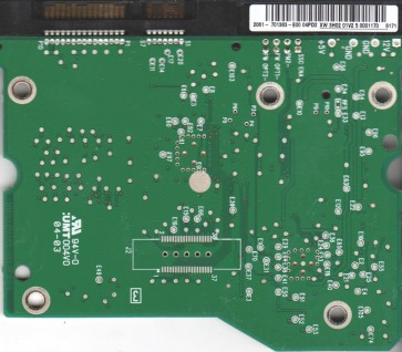 WD4000KS-00MNB0, 2061-701383-E00 04PD2, WD SATA 3.5 PCB