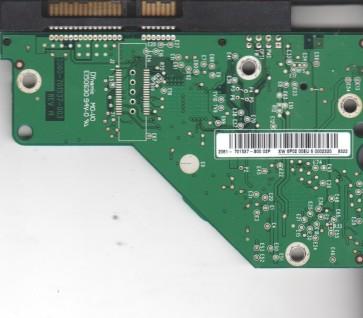 WD2500AAKS-22VSA0, 2061-701537-800 02P, WD SATA 3.5 PCB