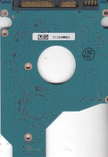 MK3265GSX, HDD2H83 B UL02 B, G002641A, Toshiba 320GB SATA 2.5 PCB