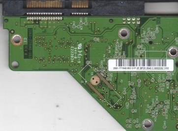 WD5000AVDS-63U7B1, 2061-771640-803 01P, WD SATA 3.5 PCB