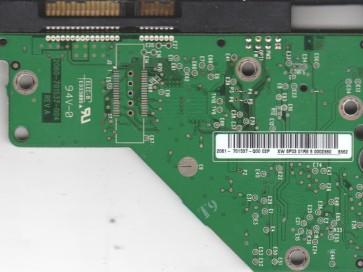 WD10EAVS-00D7B1, 2061-701537-Q00 02P, WD SATA 3.5 PCB
