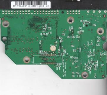 WD1600AAJB-00J3A0, 2061-701596-A00 10P, WD IDE 3.5 PCB