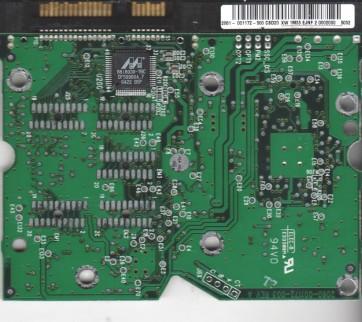 WD360GD-50GHA2, 2061-001172-500 CSD20, WD SATA 3.5 PCB