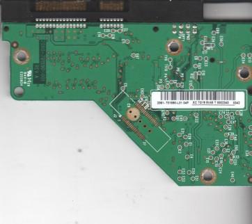 WD5000AAKS-00A7B2, 2061-701590-L01 04P, WD SATA 3.5 PCB
