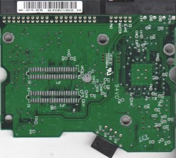 WD1600BB-98DWA0, 2061-001173-000 DC, WD IDE 3.5 PCB