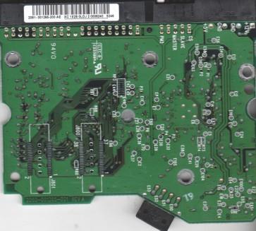 WD1600JB-75GVA0, 2061-001265-200 AE, WD IDE 3.5 PCB