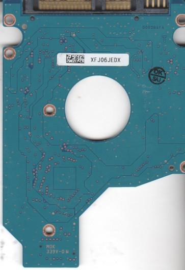 MK1665GSX, HDD2H85 H ZK01 B, G002641A, Toshiba 160GB SATA 2.5 PCB