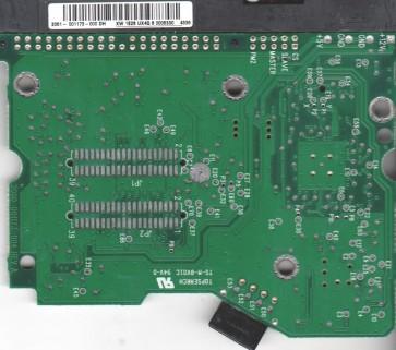 WD1600BB-00FTA0, 2061-001173-000 DH, WD IDE 3.5 PCB
