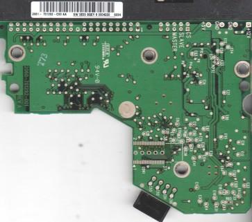 WD2500JB-00REA0, 2061-701292-C00 AA, WD IDE 3.5 PCB