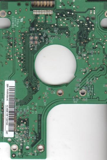 WD7500KMVV-11BG7S0, 2061-701675-304 AC, WD USB 2.5 PCB