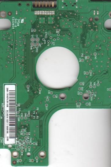 WD7500KMVV-11A27S0, 2061-701675-201 AB, WD USB 2.5 PCB
