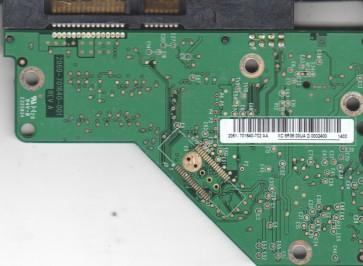 WD5000AVVS-63M8B0, 2061-701640-702 AA, WD SATA 3.5 PCB