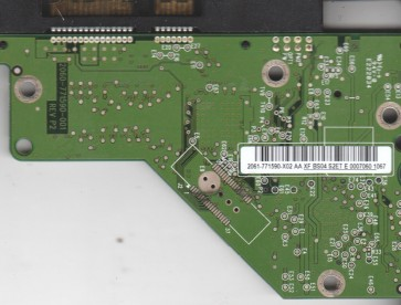 WD2500AVVS-62L2B0, 2061-771590-X02 AA, REV P2, WD SATA 3.5 PCB