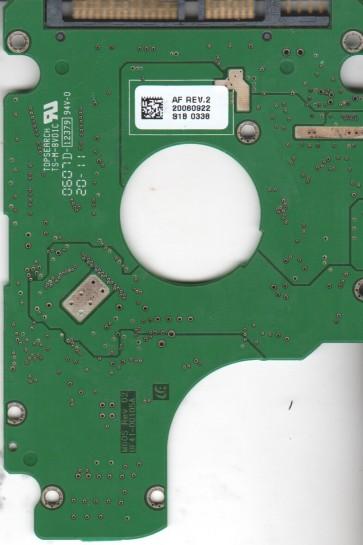 HM120JI, HM120JI, BF41-00105A, FW YF100-10, Samsung 120GB SATA 2.5 PCB