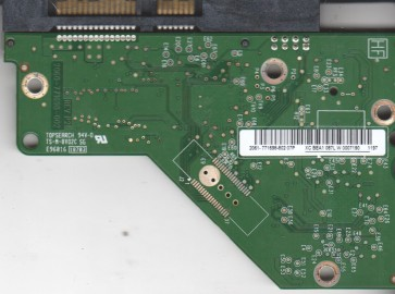WD20EARS-00MVWB0, 2061-771698-802 07P, WD SATA 3.5 PCB