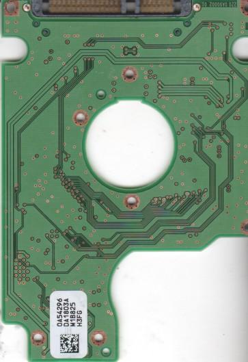 HTS542560K9SA00, 0A54296 DA1803A, PN 0A54970, Hitachi 60GB SATA 2.5 PCB