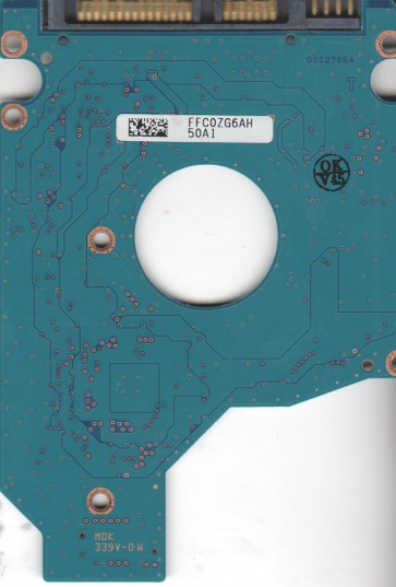 MK6465GSX, HDD2H81 C SL01, G002706A, Toshiba 640GB SATA 2.5 PCB