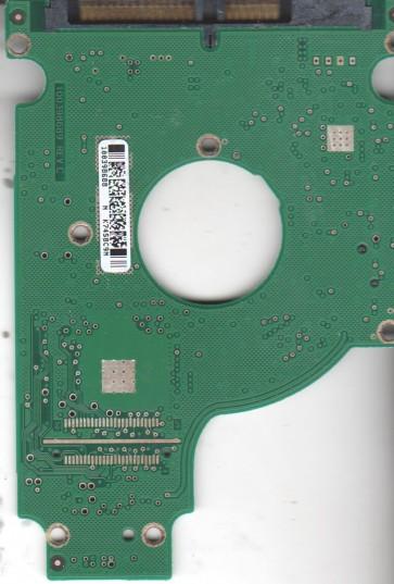 ST980811AS, 9S1132-143, 3.ALC, 100398688 N, Seagate SATA 2.5 PCB
