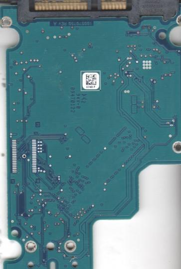 ST9750430AS, 9TY14Z-550, CC9D, 0748 F, Seagate SATA 2.5 PCB