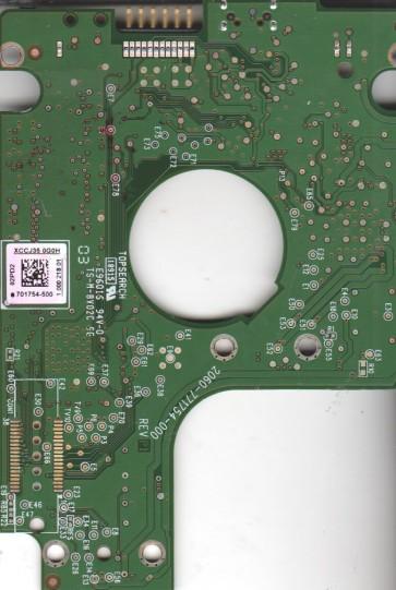 WD10TMVV-11TK7S1, 701754-500 02PD2, WD USB 2.5 PCB
