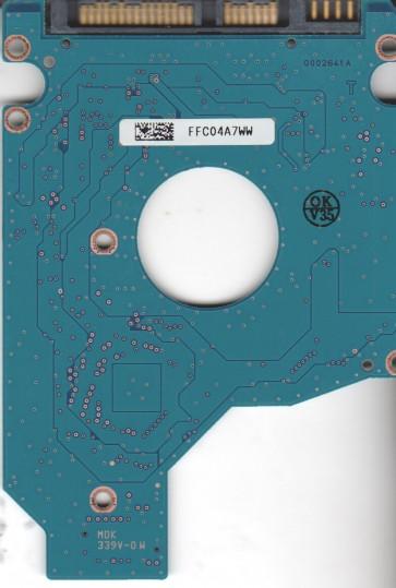 MK1265GSX, HDD2H86 H ZK01 S, G002641A, Toshiba 120GB SATA 2.5 PCB