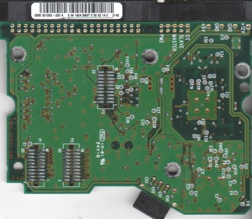 WD400BB-75CLB0, 0000 001092-200 A, WD IDE 3.5 PCB