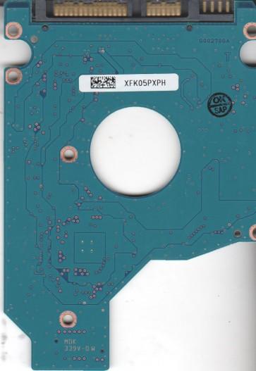 MK3265GSXV, HDD2J13 B UY01 B, G002706A, Toshiba 320GB SATA 2.5 PCB