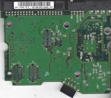 WD600BB-75CAA0, 2061-001092-301 D, WD IDE 3.5 PCB