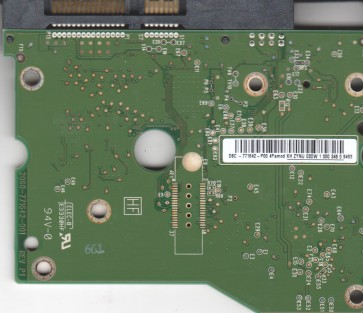 WD20EADS-00S2B0, 2061-771642-P00 4P, WD SATA 3.5 PCB