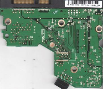 WD2500JS-40TGB0, 2061-701335-100 AD, WD SATA 3.5 PCB
