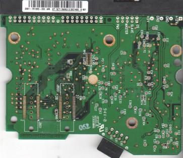 WD2500JB-57GVC0, 2061-701265-200 AM, WD IDE 3.5 PCB