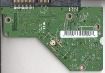 WD5000AAKS-60Z1A0, 2061-771640-L03 AB, WD SATA 3.5 PCB