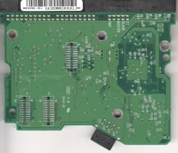 WD400BB-00CAA0, 0000 001092-100 J, WD IDE 3.5 PCB
