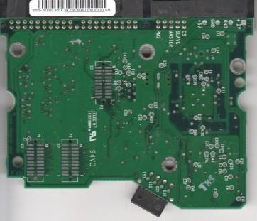 WD600BB-75CAA0, 2061-001092-300 K, WD IDE 3.5 PCB