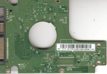 WD5000BEKT-60KA9T0, 2061-771714-002 01PD2, WD SATA 2.5 PCB
