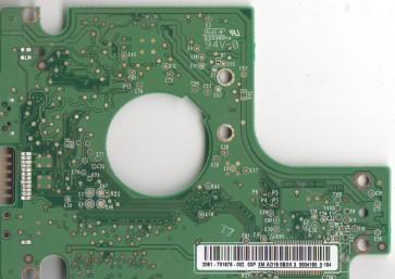 WD6400BMVV-11A1CS0, 2061-701675-002 03P, WD USB 2.5 PCB