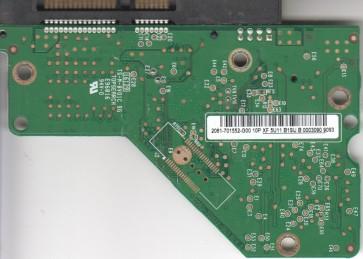 WD1600AAJS-60WAA0, 2061-701552-G00 10P, WD SATA 3.5 PCB