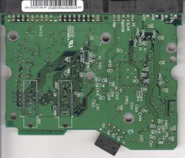 WD1200JB-00GVA0, 2061-001265-200 AH, WD IDE 3.5 PCB