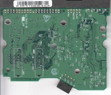 WD2000JB-00GVA0, 2061-001265-000 B, WD IDE 3.5 PCB