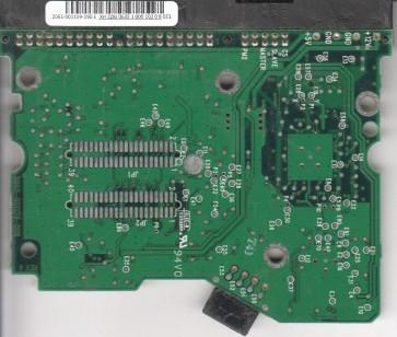 WD800BB-00DKA0, 2061-001159-190 E, WD IDE 3.5 PCB