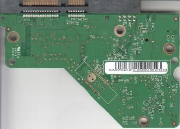 WD1600AAJS-60M0A1, 2061-701590-X02 AD, REV A, WD SATA 3.5 PCB