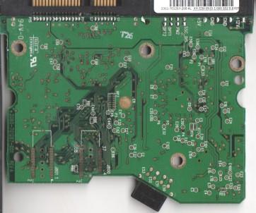 WD2500JD-00HBC0, 2061-701267-200 AL, WD SATA 3.5 PCB
