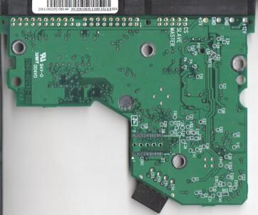 WD400BB-00JHC0, 2061-001292-000 AK, WD IDE 3.5 PCB