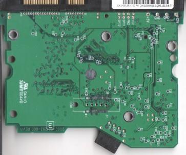 WD400BD-60JPA0, 2061-001293-100 AK, WD SATA 3.5 PCB