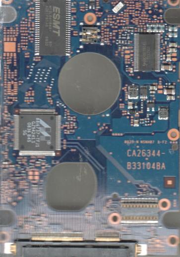 MHZ2120BH G2, PN CA07018-B31300C1, Fujitsu 120GB SATA 2.5 PCB