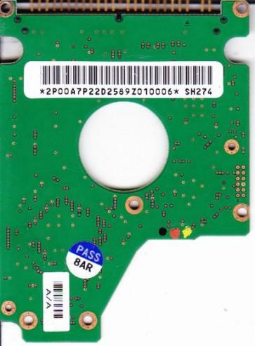 DK23DA-40F, A/A0A1 A/A, Hitachi 40GB IDE 2.5 PCB