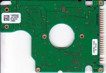 IC25N060ATMR04-0, PN 08K0634, 14R9060 J41063D, Hitachi 60GB IDE 2.5 PCB