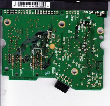 WD1600JB-00GVC0, 2061-701265-200 AL, WD IDE 3.5 PCB
