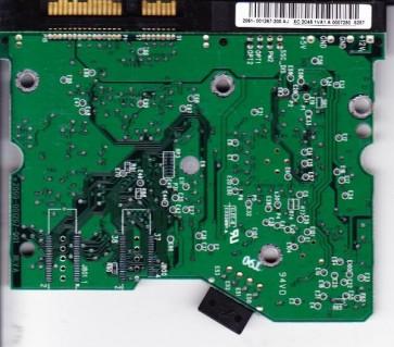 WD2500JD-75HBB0, 2061-001267-200 AJ, WD SATA 3.5 PCB