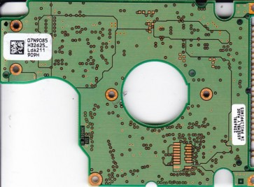 IC25N030ATCS04-0, PN 07N9318, 07N9085 H32625_, IBM 30GB IDE 2.5 PCB
